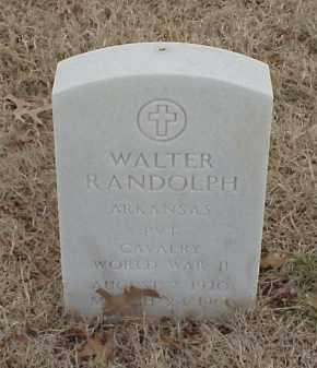 RANDOLPH  (VETERAN WWII), WALTER - Pulaski County, Arkansas | WALTER RANDOLPH  (VETERAN WWII) - Arkansas Gravestone Photos