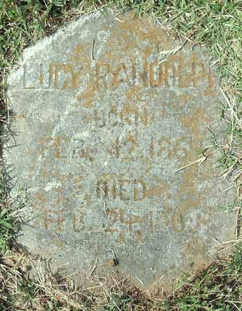 RANDOLPH, LUCY - Pulaski County, Arkansas | LUCY RANDOLPH - Arkansas Gravestone Photos