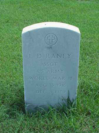 RANEY (VETERAN WWII), L D - Pulaski County, Arkansas | L D RANEY (VETERAN WWII) - Arkansas Gravestone Photos