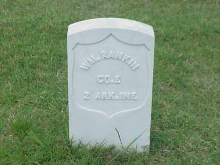 RANKIN (VETERAN UNION), WILLIAM - Pulaski County, Arkansas | WILLIAM RANKIN (VETERAN UNION) - Arkansas Gravestone Photos