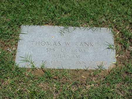 RANKIN (VETERAN VIET), THOMAS W - Pulaski County, Arkansas | THOMAS W RANKIN (VETERAN VIET) - Arkansas Gravestone Photos
