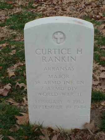 RANKIN (VETERAN WWII), CURTICE - Pulaski County, Arkansas | CURTICE RANKIN (VETERAN WWII) - Arkansas Gravestone Photos
