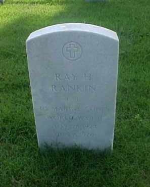 RANKIN (VETERAN WWII), RAY H - Pulaski County, Arkansas | RAY H RANKIN (VETERAN WWII) - Arkansas Gravestone Photos