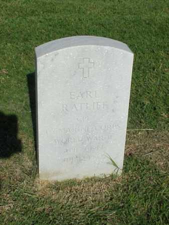 RATLIFF (VETERAN WWII), EARL - Pulaski County, Arkansas | EARL RATLIFF (VETERAN WWII) - Arkansas Gravestone Photos