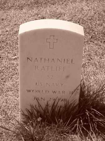 RATLIFF (VETERAN WWII), NATHANIEL - Pulaski County, Arkansas | NATHANIEL RATLIFF (VETERAN WWII) - Arkansas Gravestone Photos