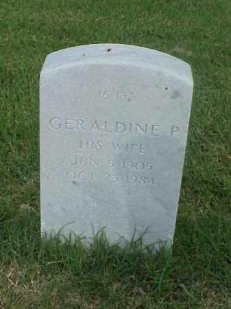 RAUCH, GERALDINE P - Pulaski County, Arkansas | GERALDINE P RAUCH - Arkansas Gravestone Photos