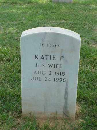 RAY, KATIE PEARL - Pulaski County, Arkansas | KATIE PEARL RAY - Arkansas Gravestone Photos