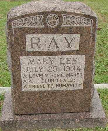 LEE RAY, MARY - Pulaski County, Arkansas | MARY LEE RAY - Arkansas Gravestone Photos