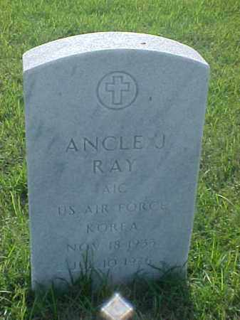 RAY (VETERAN KOR), ANCLE J - Pulaski County, Arkansas | ANCLE J RAY (VETERAN KOR) - Arkansas Gravestone Photos