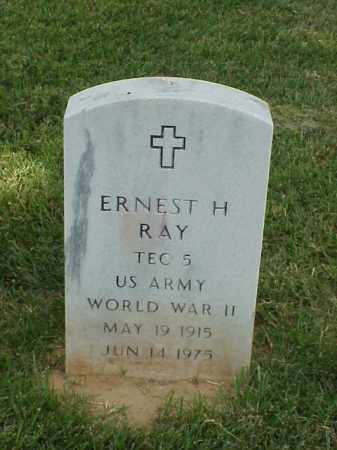 RAY (VETERAN WWII), ERNEST H - Pulaski County, Arkansas | ERNEST H RAY (VETERAN WWII) - Arkansas Gravestone Photos