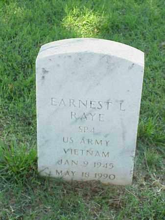 RAYE (VETERAN VIET), EARNEST L - Pulaski County, Arkansas | EARNEST L RAYE (VETERAN VIET) - Arkansas Gravestone Photos