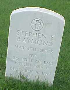 RAYMOND (VETERAN WWI), STEPHEN E - Pulaski County, Arkansas | STEPHEN E RAYMOND (VETERAN WWI) - Arkansas Gravestone Photos