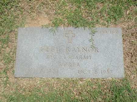 RAYNOR (VETERAN KOR), CECIL - Pulaski County, Arkansas | CECIL RAYNOR (VETERAN KOR) - Arkansas Gravestone Photos