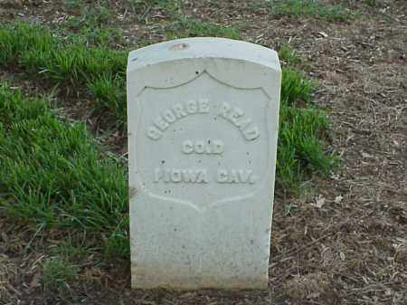 READ (VETERAN UNION), GEORGE - Pulaski County, Arkansas | GEORGE READ (VETERAN UNION) - Arkansas Gravestone Photos