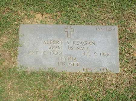 REAGAN (VETERAN 2 WARS), ALBERT S - Pulaski County, Arkansas | ALBERT S REAGAN (VETERAN 2 WARS) - Arkansas Gravestone Photos