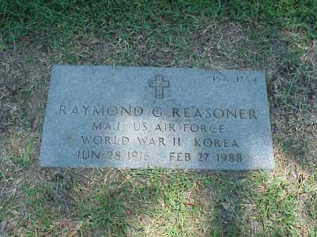 REASONER (VETERAN 2 WARS), RAYMOND G - Pulaski County, Arkansas | RAYMOND G REASONER (VETERAN 2 WARS) - Arkansas Gravestone Photos