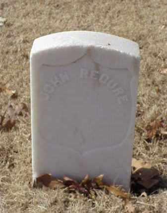 RECURE (VETERAN UNION), JOHN - Pulaski County, Arkansas | JOHN RECURE (VETERAN UNION) - Arkansas Gravestone Photos