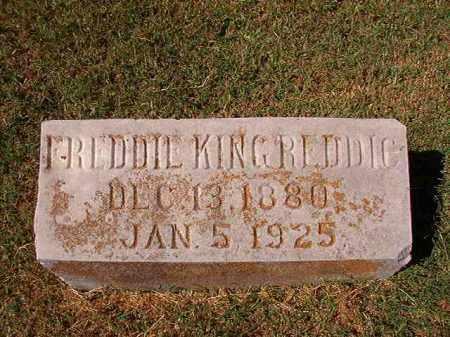 REDDIC, FREDDIE KING - Pulaski County, Arkansas | FREDDIE KING REDDIC - Arkansas Gravestone Photos