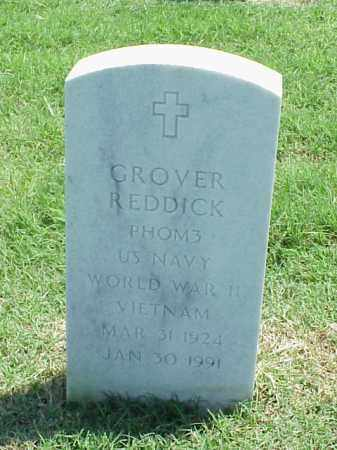 REDDICK (VETERAN 2 WARS), GROVER - Pulaski County, Arkansas | GROVER REDDICK (VETERAN 2 WARS) - Arkansas Gravestone Photos