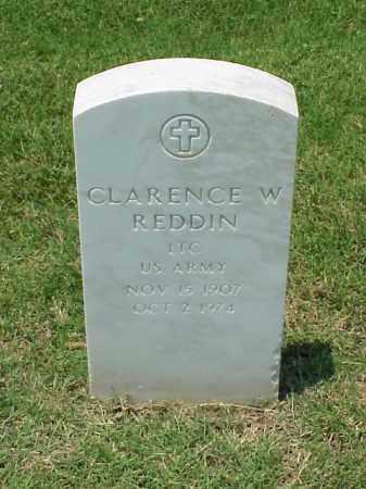 REDDIN (VETERAN WWII), CLARENCE W - Pulaski County, Arkansas | CLARENCE W REDDIN (VETERAN WWII) - Arkansas Gravestone Photos