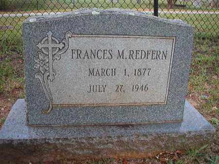 REDFERN, FRANCES M - Pulaski County, Arkansas | FRANCES M REDFERN - Arkansas Gravestone Photos
