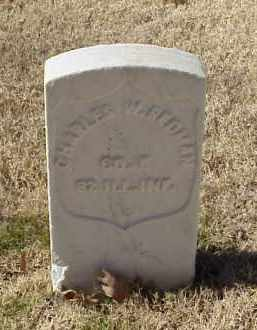 REDMAN (VETERAN UNION), CHARLES - Pulaski County, Arkansas | CHARLES REDMAN (VETERAN UNION) - Arkansas Gravestone Photos