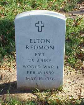 REDMON (VETERAN WWI), ELTON - Pulaski County, Arkansas | ELTON REDMON (VETERAN WWI) - Arkansas Gravestone Photos