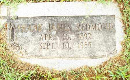 REDMOND, FRANK JAMES - Pulaski County, Arkansas | FRANK JAMES REDMOND - Arkansas Gravestone Photos