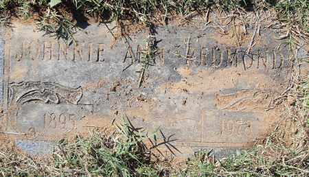 REDMOND, JOHNNIE ANN - Pulaski County, Arkansas | JOHNNIE ANN REDMOND - Arkansas Gravestone Photos