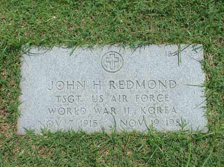 REDMOND (VETERAN 2 WARS), JOHN H - Pulaski County, Arkansas | JOHN H REDMOND (VETERAN 2 WARS) - Arkansas Gravestone Photos