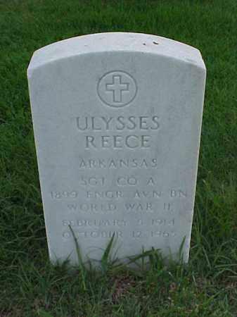 REECE (VETERAN WWII), ULYSSES - Pulaski County, Arkansas | ULYSSES REECE (VETERAN WWII) - Arkansas Gravestone Photos