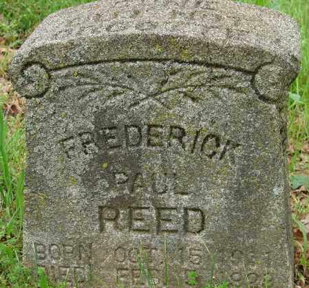 REED, FREDERICK PAUL - Pulaski County, Arkansas | FREDERICK PAUL REED - Arkansas Gravestone Photos