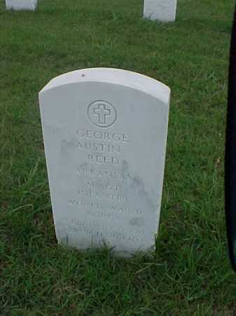 REED (VETERAN 2 WARS), GEORGE AUSTIN - Pulaski County, Arkansas | GEORGE AUSTIN REED (VETERAN 2 WARS) - Arkansas Gravestone Photos