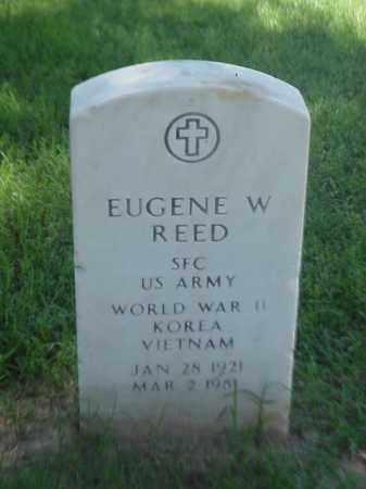 REED (VETERAN 3 WARS), EUGENE W - Pulaski County, Arkansas | EUGENE W REED (VETERAN 3 WARS) - Arkansas Gravestone Photos