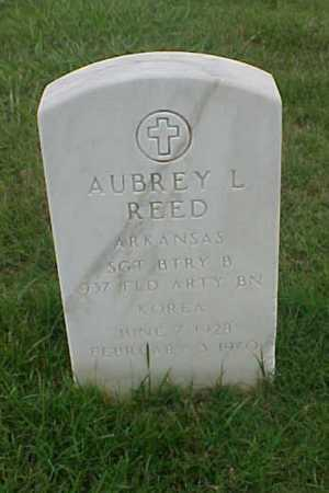 REED (VETERAN KOR), AUBREY L - Pulaski County, Arkansas | AUBREY L REED (VETERAN KOR) - Arkansas Gravestone Photos