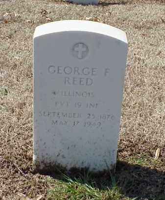 REED (VETERAN SAW), GEORGE F - Pulaski County, Arkansas | GEORGE F REED (VETERAN SAW) - Arkansas Gravestone Photos