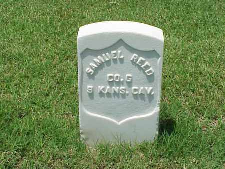 REED (VETERAN UNION), SAMUEL - Pulaski County, Arkansas | SAMUEL REED (VETERAN UNION) - Arkansas Gravestone Photos