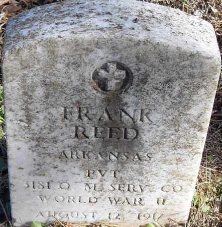 REED (VETERAN WWII), FRANK - Pulaski County, Arkansas | FRANK REED (VETERAN WWII) - Arkansas Gravestone Photos