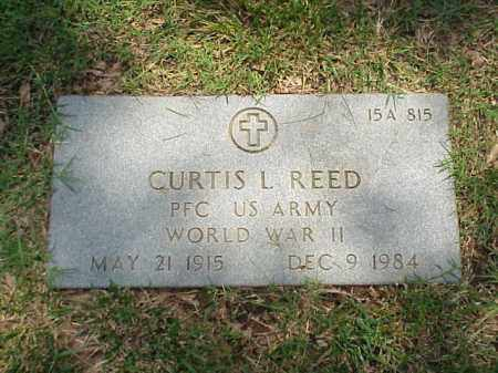 REED (VETERAN WWII), CURTIS L - Pulaski County, Arkansas | CURTIS L REED (VETERAN WWII) - Arkansas Gravestone Photos