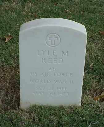REED (VETERAN WWII), LYLE M - Pulaski County, Arkansas | LYLE M REED (VETERAN WWII) - Arkansas Gravestone Photos