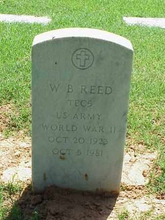 REED (VETERAN WWII), W B - Pulaski County, Arkansas | W B REED (VETERAN WWII) - Arkansas Gravestone Photos