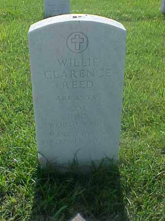 REED (VETERAN WWII), WILLIE CLARENCE - Pulaski County, Arkansas | WILLIE CLARENCE REED (VETERAN WWII) - Arkansas Gravestone Photos