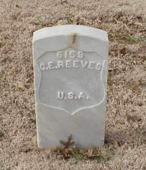 REEVES (VETERAN UNION), G E - Pulaski County, Arkansas | G E REEVES (VETERAN UNION) - Arkansas Gravestone Photos