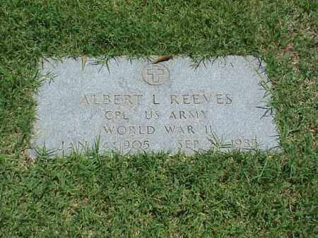 REEVES (VETERAN WWII), ALBERT L - Pulaski County, Arkansas | ALBERT L REEVES (VETERAN WWII) - Arkansas Gravestone Photos