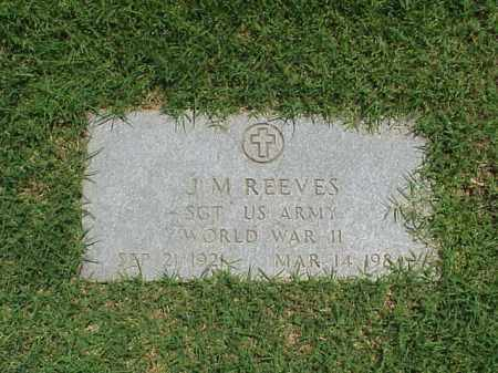REEVES (VETERAN WWII), JAMES M - Pulaski County, Arkansas | JAMES M REEVES (VETERAN WWII) - Arkansas Gravestone Photos