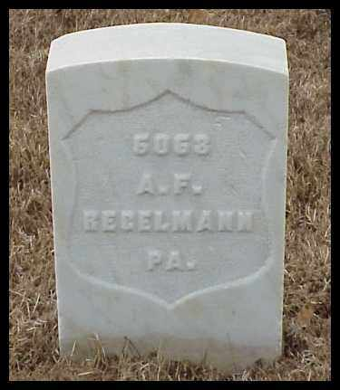 REGELMANN (VETERAN UNION), AUGUST F - Pulaski County, Arkansas | AUGUST F REGELMANN (VETERAN UNION) - Arkansas Gravestone Photos