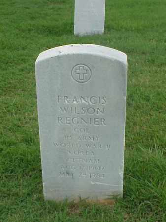 REGINER (VETERAN 3 WARS), FRANCIS WILSON - Pulaski County, Arkansas | FRANCIS WILSON REGINER (VETERAN 3 WARS) - Arkansas Gravestone Photos