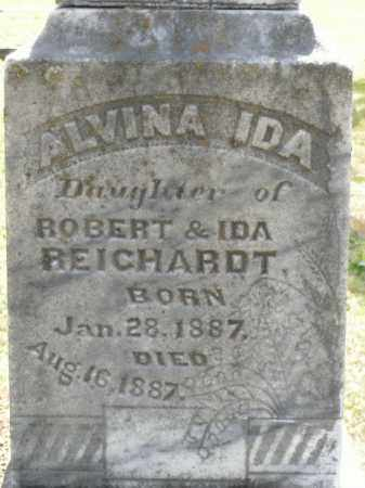 REICHARDT, ALVINA IDA - Pulaski County, Arkansas | ALVINA IDA REICHARDT - Arkansas Gravestone Photos