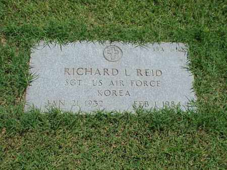 REID (VETERAN KOR), RICHARD L - Pulaski County, Arkansas | RICHARD L REID (VETERAN KOR) - Arkansas Gravestone Photos