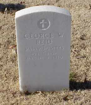 REID (VETERAN UNION), GEORGE W - Pulaski County, Arkansas | GEORGE W REID (VETERAN UNION) - Arkansas Gravestone Photos